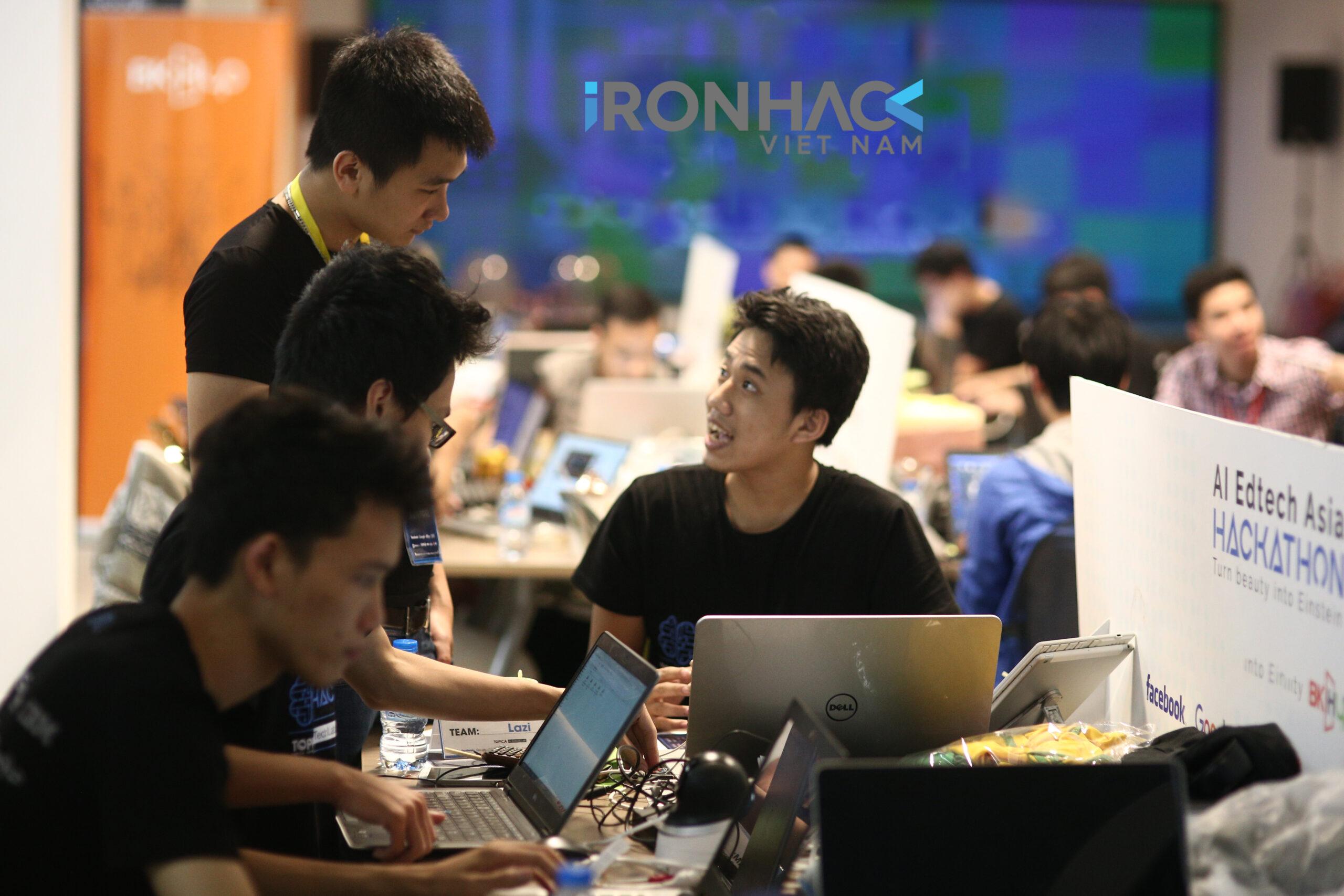 Học viên Ironhack Việt Nam học Coding Bootcamp