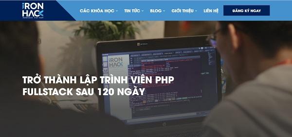 khóa học lập trình PHP nào tốt